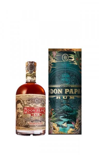 Don Papa Rum Cosmic Canister Limited Metallgeschenkbox - 0,7L 40% vol