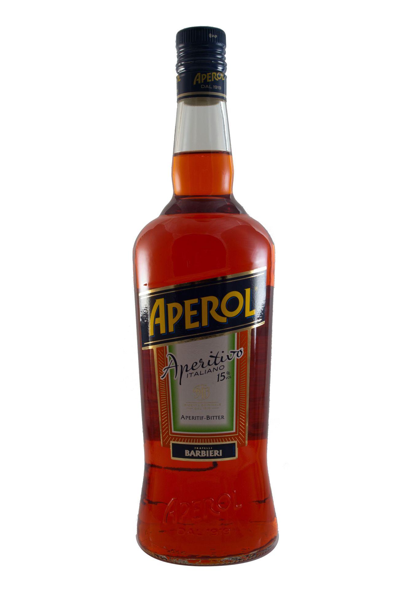 aperol aperitif bitter 1 liter kaufen ab 14 47 eur im. Black Bedroom Furniture Sets. Home Design Ideas