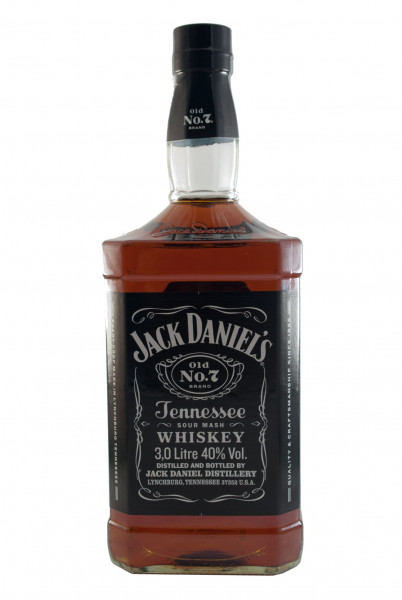 Jack Daniels, 3 Liter Flasche, American Whiskey - 40% vol - (3L)