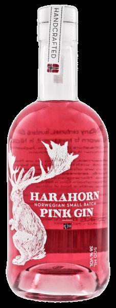 Harahorn Norwegian Pink Gin - 0,5L 38% vol