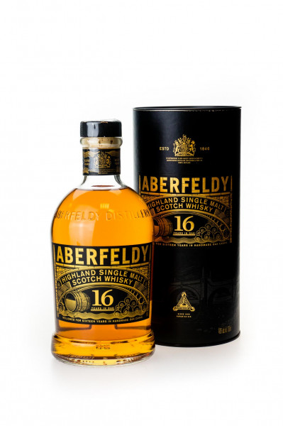 Aberfeldy 16 Jahre Highland Single Malt Scotch Whisky - 0,7L 40% vol