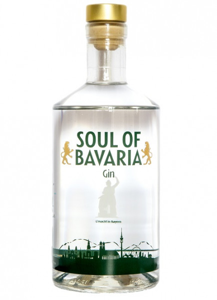 Soul of Bavaria Gin - 0,7L 40% vol