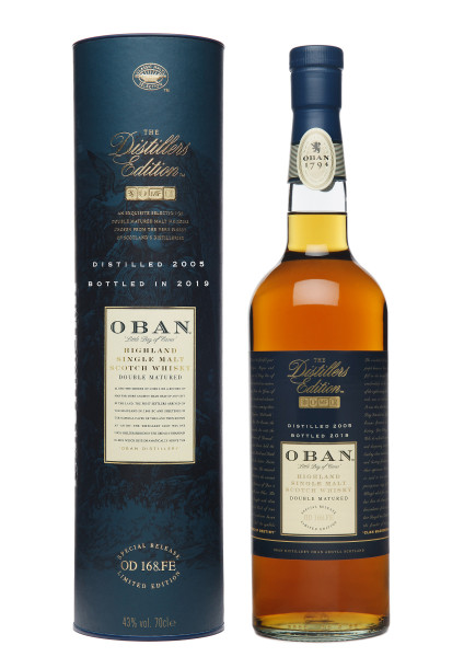 Oban Distillers Edition 2005/2019 Highland Single Malt Scotch Whisky - 0,7L 43% vol