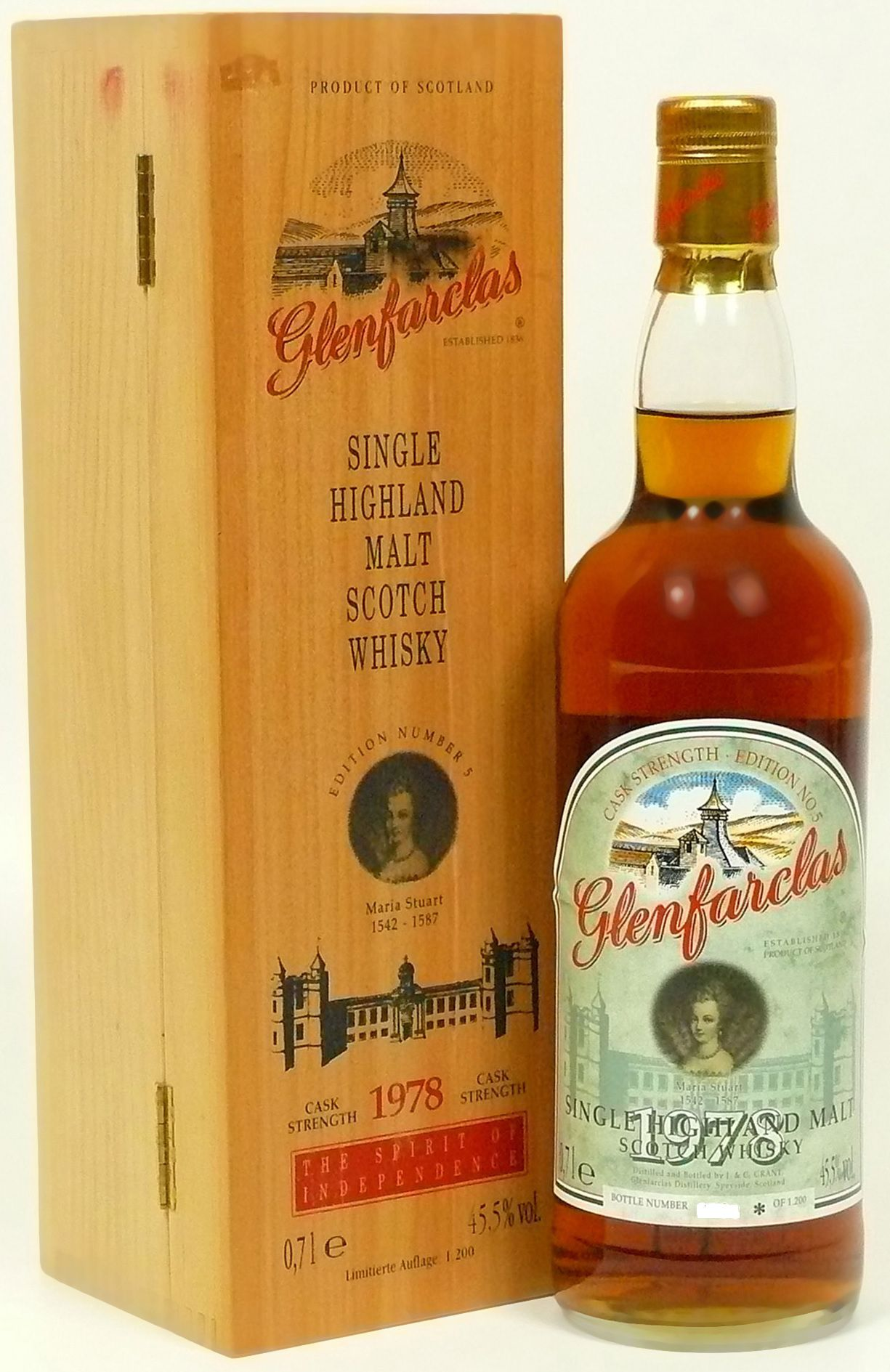 Glenfarclas Edition No. 5 Maria Stuart