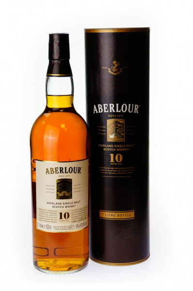 Aberlour 10 Jahre Highland Single Malt Scotch Whisky - 1 Liter 40% vol