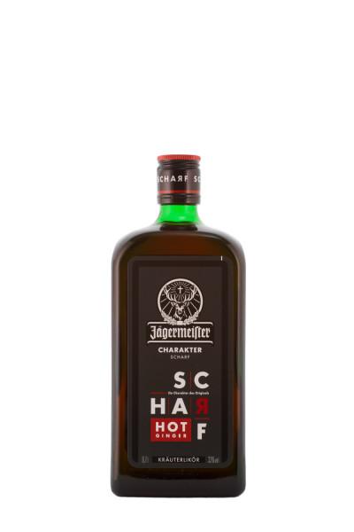 Jägermeister Scharf Hot Ginger - 0,7L 33% vol