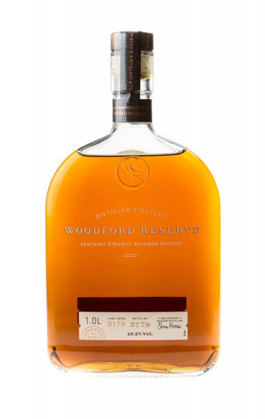Woodford Reserve Distillers Select Kentucky Straight Bourbon Whiskey - 1 Liter 43,2% vol