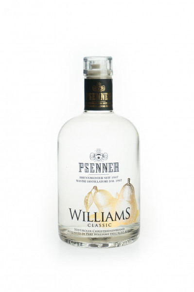 Psenner Williams Christ Birnenbrand - 0,7L 40% vol