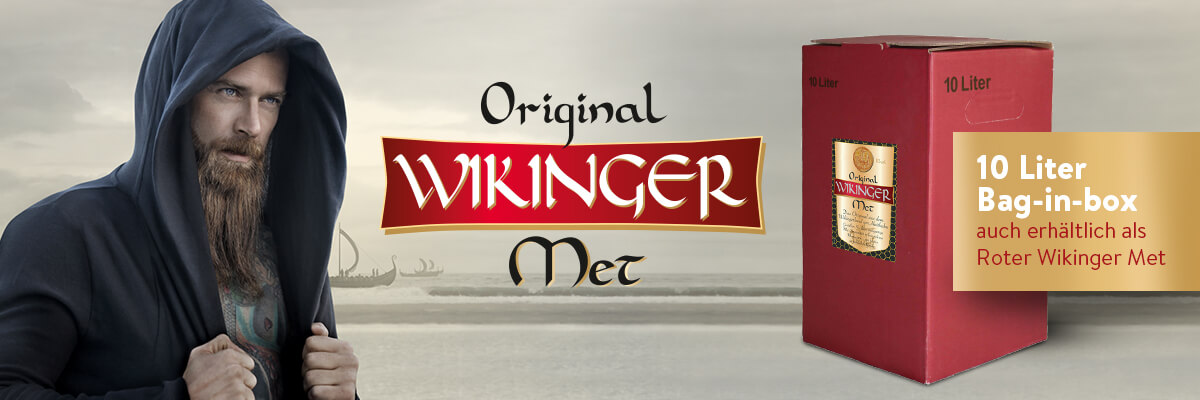 Original Wikinger Met 10 Liter Bag-Box (10L)