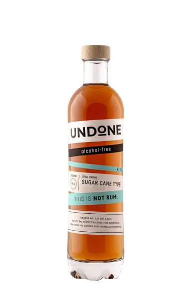 Undone No. 1 Sugar Cane Type NOT Rum - 0,7L