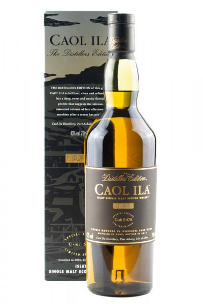 Caol Ila Distillers Edition 2006 / 2018 Single Malt Scotch Whisky - 0,7L 43% vol
