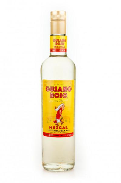 Mezcal Gusano Rojo mit Wurm - 0,7L 38% vol