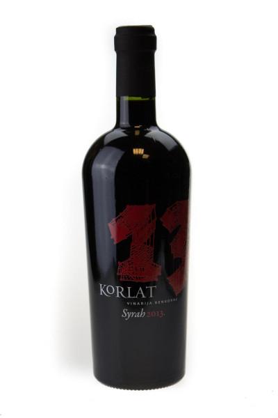Korlat Syrah Rotwein - 0,75L 14% vol