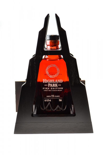 Highland Park Fire 15 Jahre Single Malt Scotch Whisky - 0,7L 45,2% vol
