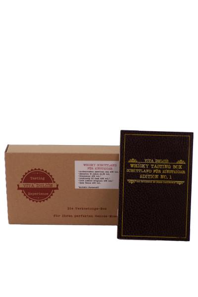 Whisky Schottland Einsteiger Tasting Box - 0,12L 43,4% vol