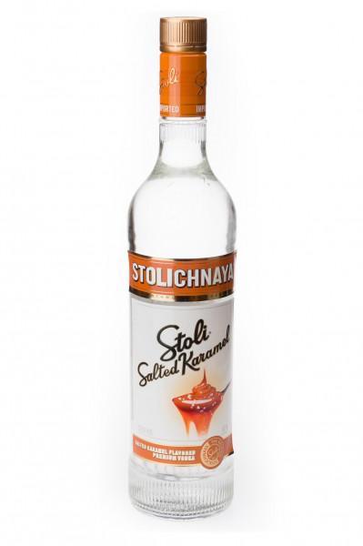 Stolichnaya Salted Karamel aromatisierter Vodka - 0,7L 37,5% vol