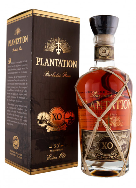 Plantation 20th Anniversary XO Rhum - 0,7L 40% vol