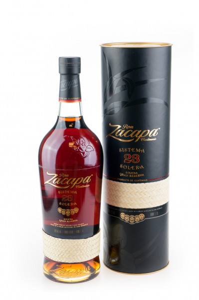 Ron Zacapa 23 Sistema Solera Gran Reserva Rum - 1 Liter 40% vol