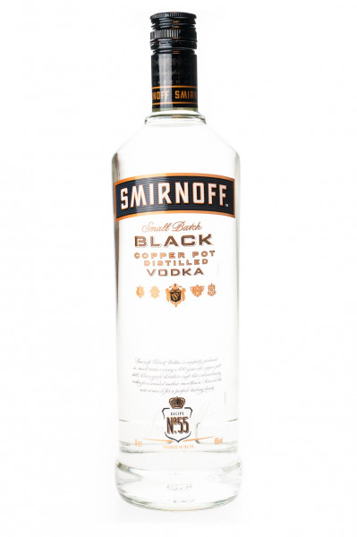 Smirnoff Black Label Vodka - 1 Liter 40% vol