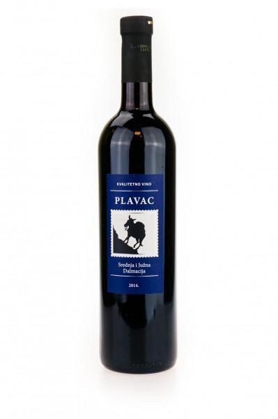 Plavac Mali Rotwein - 0,75L 12% vol