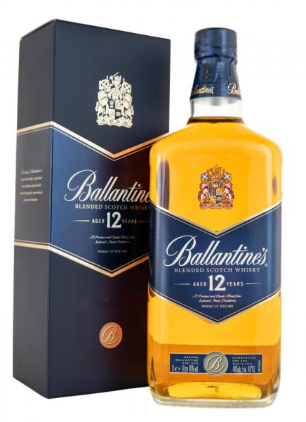 Ballantines 12 Jahre Blended Scotch Whisky - 1 Liter 40% vol