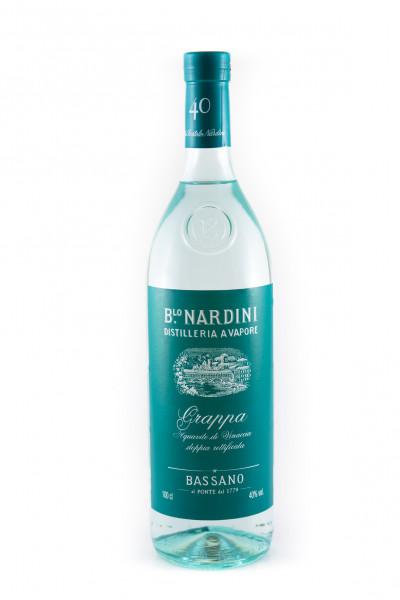 Nardini Grappa Bianca 40 - 40% vol - (1 Liter)