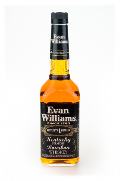 Evan Williams Black Label Kentucky Straight Bourbon Whiskey - 0,7L 43% vol