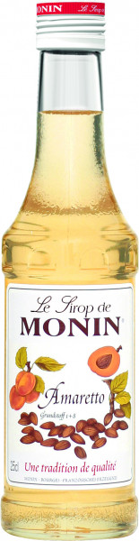 Monin Amaretto Sirup - 0,25L