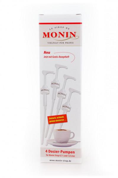 Monin Dosierpumpen für Sirup 4 Stück