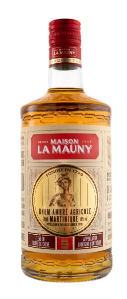 La Mauny Rhum Agricole Ambre - 0,7L 40% vol