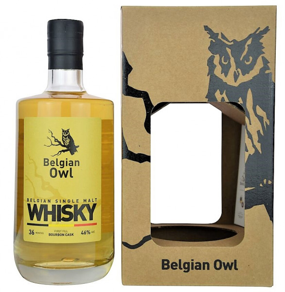 Belgian Owl Single Malt Whisky - 0,5L 46% vol