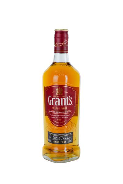 Grants Triple Wood Blended Scotch Whisky - 0,7L 40% vol