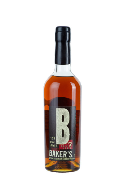Bakers 7 Jahre Kentucky Straight Bourbon Whiskey - 0,7L 53,5% vol
