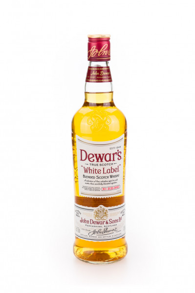 Dewars White Label Blended Scotch Whisky - 0,7L 40% vol