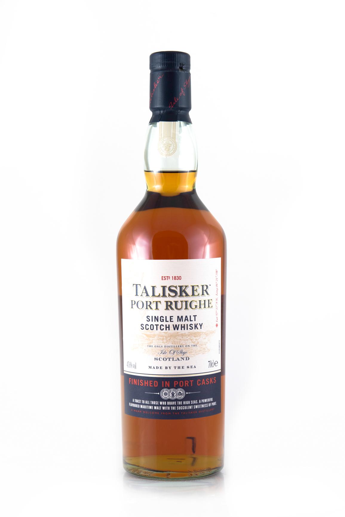 talisker port ruighe single malt scotch whisky kaufen ab 40 82 eur im single malt scotch whisky. Black Bedroom Furniture Sets. Home Design Ideas