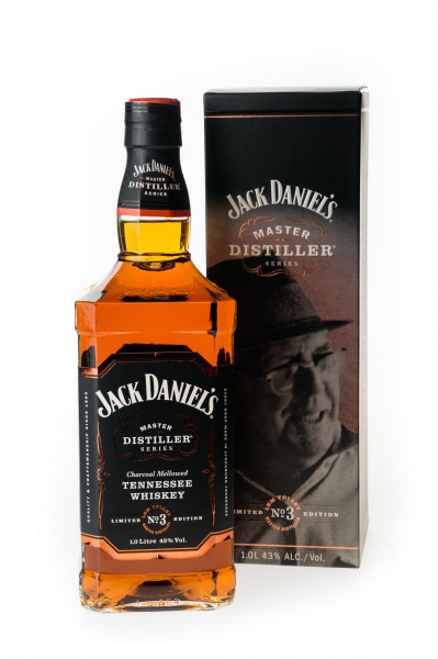 Jack Daniels Master Distiller No. 3 Lem Tolley - 1 Liter 43% vol