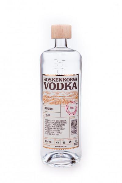 Koskenkorva Finnish Barley Vodka - 1 Liter 40% vol