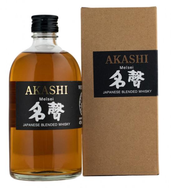 Akashi Meisei Japanese Blended Whisky - 0,5L 40% vol