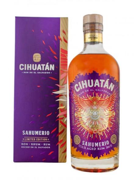 Ron Cihuatan Sahumerio Rum - 0,7L 45,2% vol