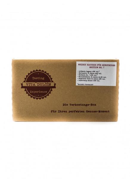 Whisky Rauchig Einsteiger Tasting Box - 0,12L 42,1% vol