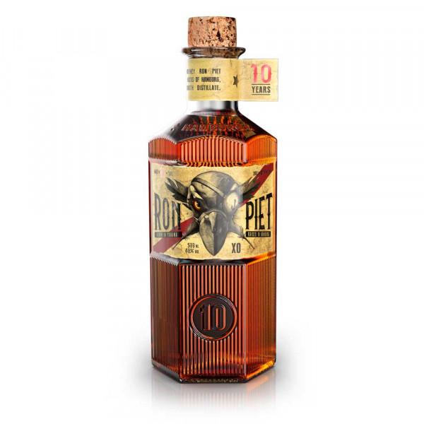 Ron Piet XO 10 Jahre - 0,5L 40% vol