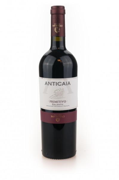 Primitivo IGP - Anticaia Cantina San Donaci Italien - 0,75L 14% vol