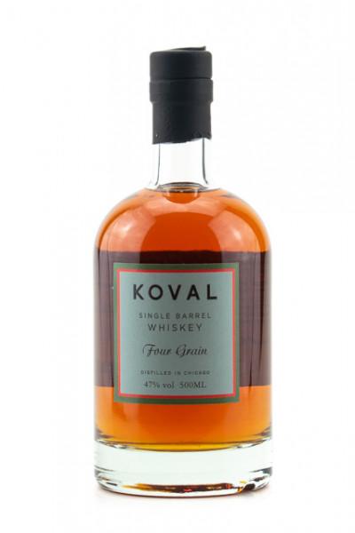 Koval Four Grain Whiskey - 0,5L 47% vol