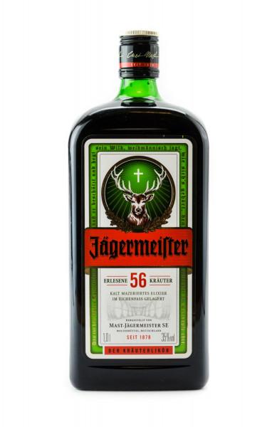 Jägermeister Kräuterlikör - 1 Liter 35% vol
