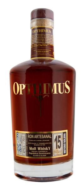 Opthimus 15 Jahre Malt Whisky Finish Rum - 0,7L 43% vol