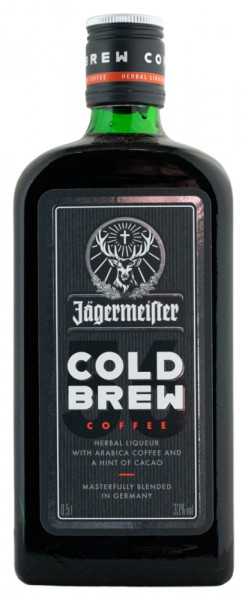 Jägermeister Cold Brew Coffee Likör - 0,5L 33% vol