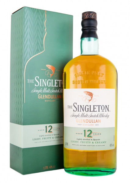 Singleton of Glendullan 12 Jahre Single Malt Scotch Whisky - 1 Liter 40% vol