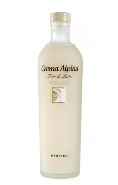 Marzadro Crema Alpina Fior di Latte Sahnelikör - 0,7L 17% vol