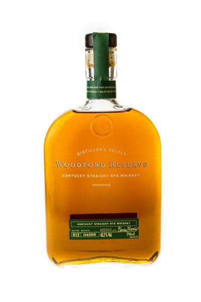 Woodford Reserve Rye Whiskey - 0,7L 45,2% vol