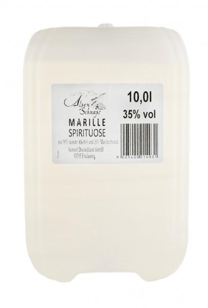 Alpenschnaps Kanister Marille - 10L 38% vol